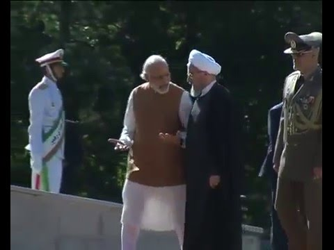 PM Shri Narendra Modi at the Ceremonial Reception In Iran