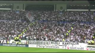The world has not seen such fans...(Besiktas-Manchester United Dunya boyle tribun gormedi...)
