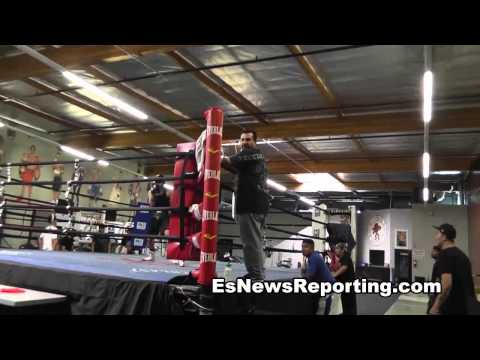 Funny Video - always be ready when brandon rios is around - EsNews Boxing