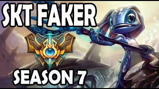FAKER plays FIZZ vs A Korean DIAMOND VIKTOR Season 7