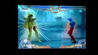 Saint Seiya Sanctuary PS2 Shaka vs Ikki (No Cloth)