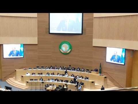 Mauritania president of AU