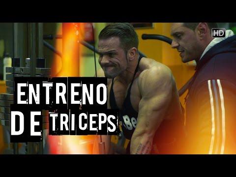 ENTRENAMIENTO DE TRICEPS   con Paco Bautista   Cuerpos Perfectos TV HD #beCPTV