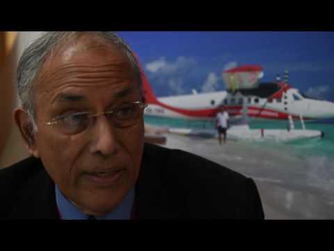 WTM 2016: Richard Saldanha, chairman, Trans Maldivian Airways