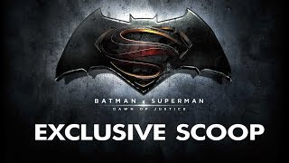 Exclusive Wonder Woman Scoop - Batman vs. Superman: Dawn of Justice (2016)