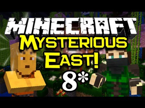 Minecraft - MYSTERIOUS EAST! - Part 8 (Minecraft Adventure Map)