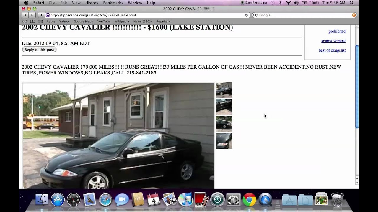 Craigslist West Lafayette Indiana Used Cars - Best For Sale by Owner ...