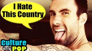 ADAM LEVINE 'I HATE THIS COUNTRY' on 'The Voice' Gets Twitter Backlash