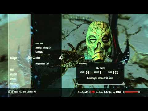 [SKYRIM] Guide - Dragon Priests and the Nine Masks