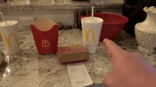 Germany vs.  USA! - McDonald's (filmed in Houston, USA)
