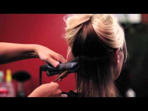How to - Curl Hair with a Flat Iron (Part 2)