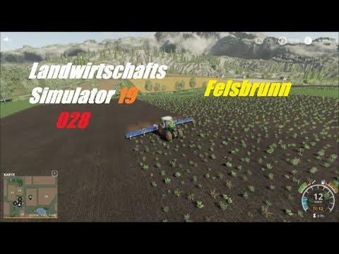 LS 19 Felsbrunn 028 # Unkraut mit dem Striegel bekämpfen