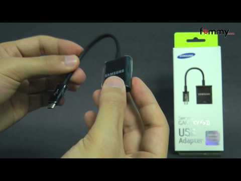 Samsung (OEM) MicroUSB to USB Adapter
