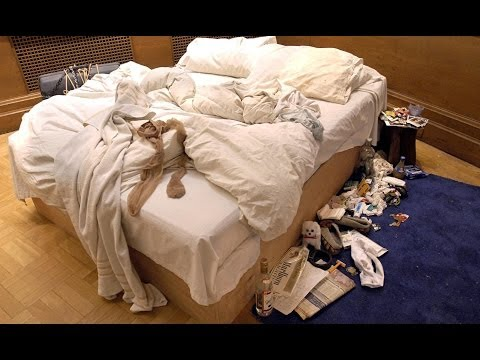 Tracey Emin on THAT bed - Newsnight