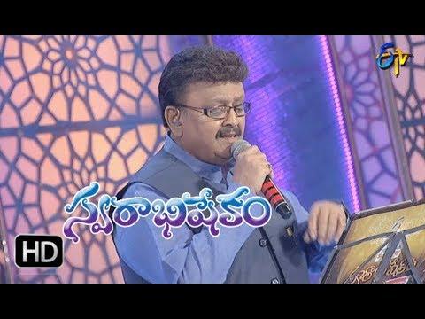Shivaranjani Song   SP Balu Performance   Swarabhishekam   28th January 2018   ETV Telugu