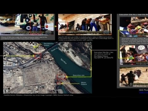 Iraq crisis: Satellite images appear to show ISIS execution sites