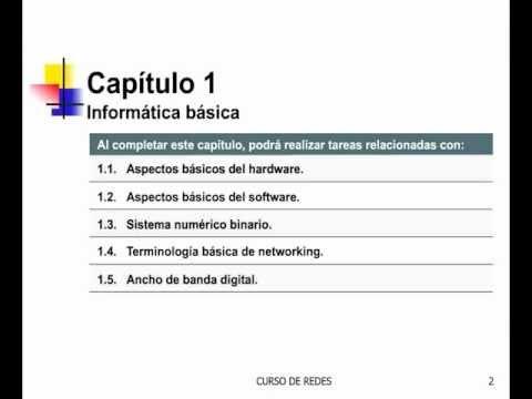 Curso Gratuito de Redes Desde Cero - Capítulo 01 - Parte 01.