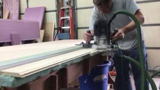 Lock miter with Festool 2200.