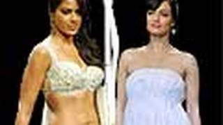 Sameera Reddy v/s Dia mirza @ Lakme Fashion week