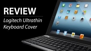 BESTE iPad Tastatur + Cover fürs Apple iPad - Logitech Ultrathin Keyboard Cover - TEST / REVIEW