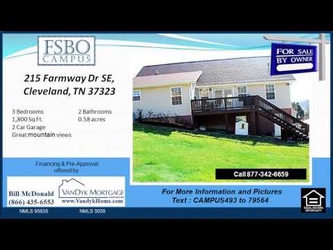 3 bedroom Home for sale near Lake Forest Middle School in Cleveland TN