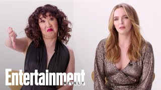 The Stars Of 'Killing Eve' React To Fan Theories | Cover Shoot | Entertainment Weekly