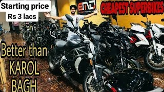 Cheapest SuperBike Showroom|Best Place to Buy Second Hand Superbikes in Delhi|Better than Karol Bagh