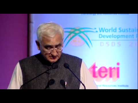 DSDS14: Mr Salman Khurshid, Hon'ble Minister of External Affairs, India