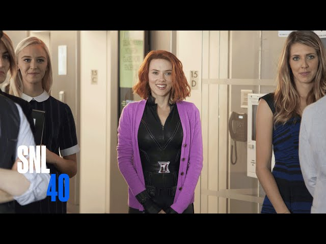 Black Widow Trailer - SNL