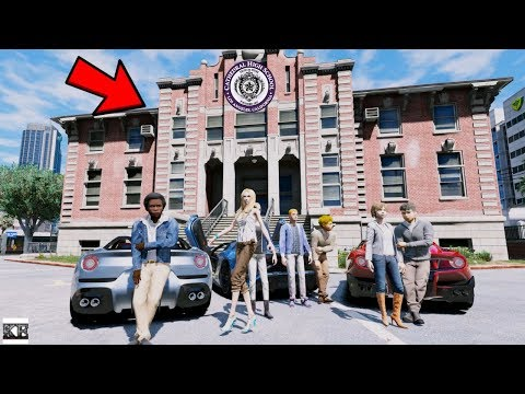 GTA 5 REAL LIFE TEEN MOD SS2 #2 DRIVING TO OUR NEW HIGH SCHOOL IN SUPERCARS