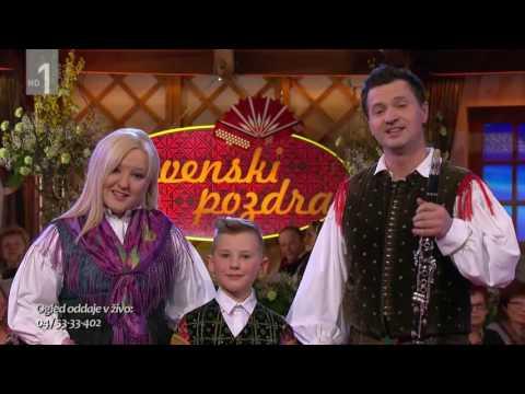 Skladba je bila izvedena v oddaji Slovenski pozdrav. Vse avtorske pravice pripadajo RTV Slovenija! Videoposnetek je naložen zgolj za promoviranje slovenske glasbe, predvsem za Slovence (in...