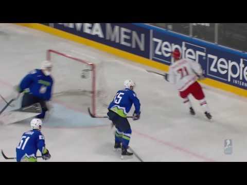 чм по хоккею 2017 Словения Беларусь