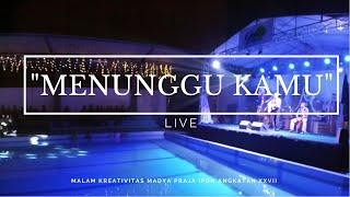 """""""LIVE"""" MENUNGGU KAMU-ANJI [cover] DJOHAR REDJEB"""