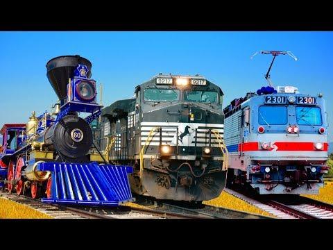 Types of Locomotives: Train Talk Ep. 16