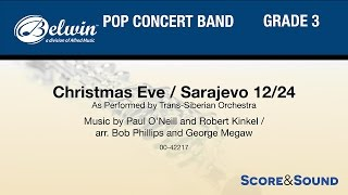Christmas Eve Sarajevo 12 24 Arr Bob Phillips And George Megaw Score Sound