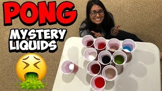 PONG With Disgusting liquids