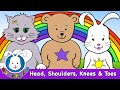 Head Shoulders Knees and Toes - nursery rhymes and kids songs