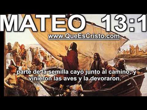 Mateo 13:1 Cristo Jesus en Biblia|Parabola TV Jesus Cristo Mateo 13:1 HD Historia