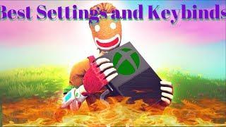 Best Settings and Keybinds! Season 8 Fortnite | #OryxRC