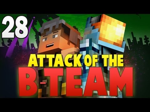 Minecraft Attack of the B-Team #28 | THE END OF B-TEAM!? - Minecraft Mod Pack Survival