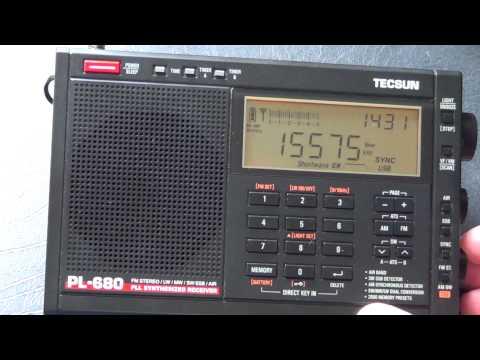 KBS World radio South Korea Shortwave on Tecsun PL 680