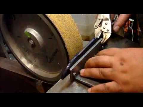 Изготовление лезвия ножа видео