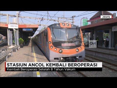 Stasiun Ancol Kembali Beroperasi untuk Komuter, Setelah 8 Tahun Vakum #1