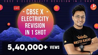 Electricity Revision in 1 Shot Full Chapter Class 10 CBSE Physics | Science Chapter 12 NCERT Vedantu