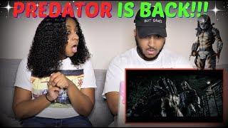 """""""The Predator"""" Official Trailer REACTION!!!"""