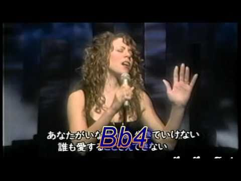 ᴴᴰ Mariah Carey's 5 Octave Vocal Range (Live G#2-G#7) Music Videos