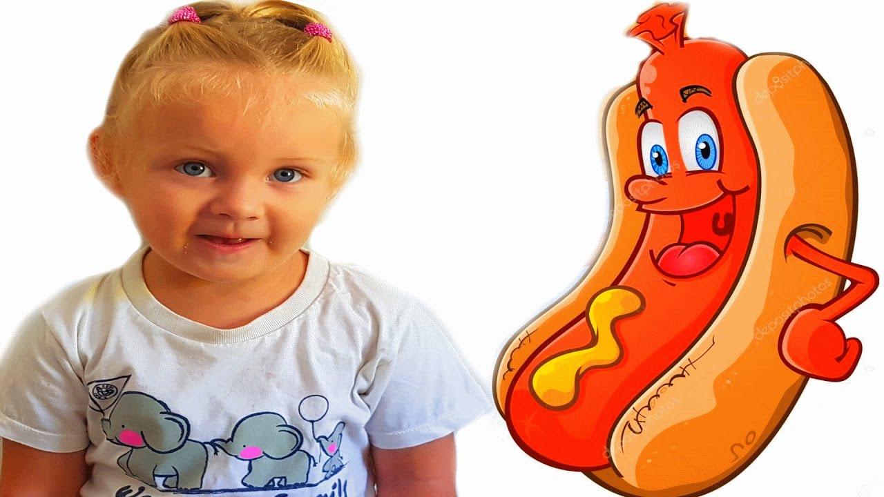 Веселая сосиска – развлекательная игра для детей Хот дог Hot Dog Hero