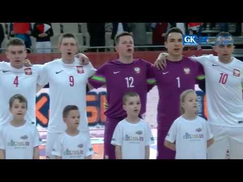 Mecz Polska - Białoruś W Koszalinie (przywitanie)