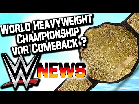 World Heavyweight Championship vor Comeback?, WWE Sauer auf Roman Reigns   WWE NEWS 53/2016