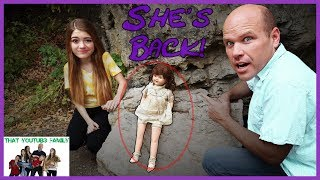 Is She Seeking Revenge? 24 Hours With Doll THE DOLLMAKER PART 3 / That YouTub3 Family  from That YouTub3 Family
